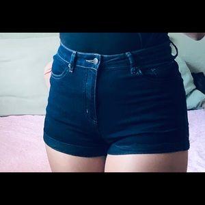 Black/Dark Grey Shorts